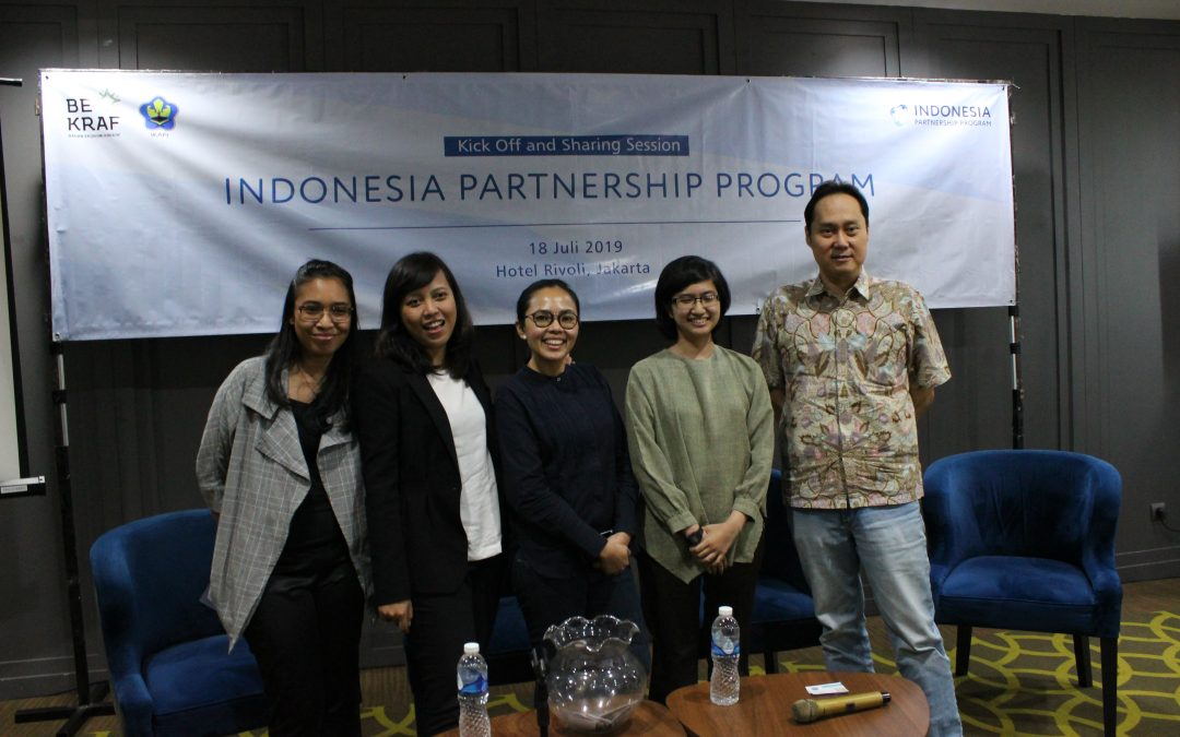 "Present LitRI until Sharing Session, ""Indonesia Partnership Program"" Kick Off Successfully Held"